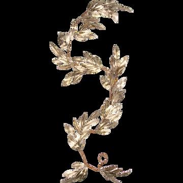 Guirlande de Noël en plastique doré L182cm-VILLI