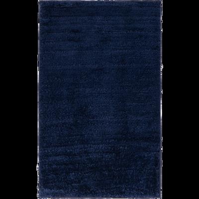 Tapis de bain bleu myrte 50x80 cm-ECRIN