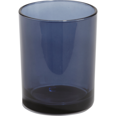 Gobelet en verre bleu-LILAS