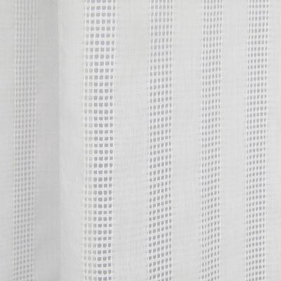 Voilage à œillets en coton blanc 140x250cm-TIBRE