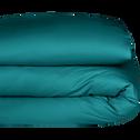 Housse de couette en coton bleu niolon-CALANQUES