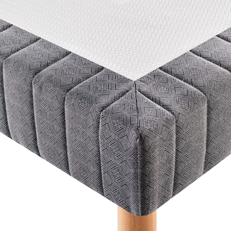 Sommier tapissier - 2x90x200cm-BASTIDE MED