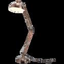 Lampadaire articulé en métal coloris cuivre H190cm-XXL