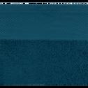 Serviette en coton 50x100cm bleu figuerolles-AZUR