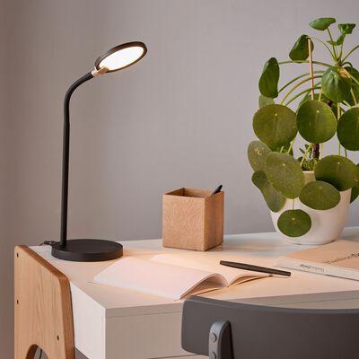 Lampe de bureau avec variateur - noir H31,50cm-SOLAR