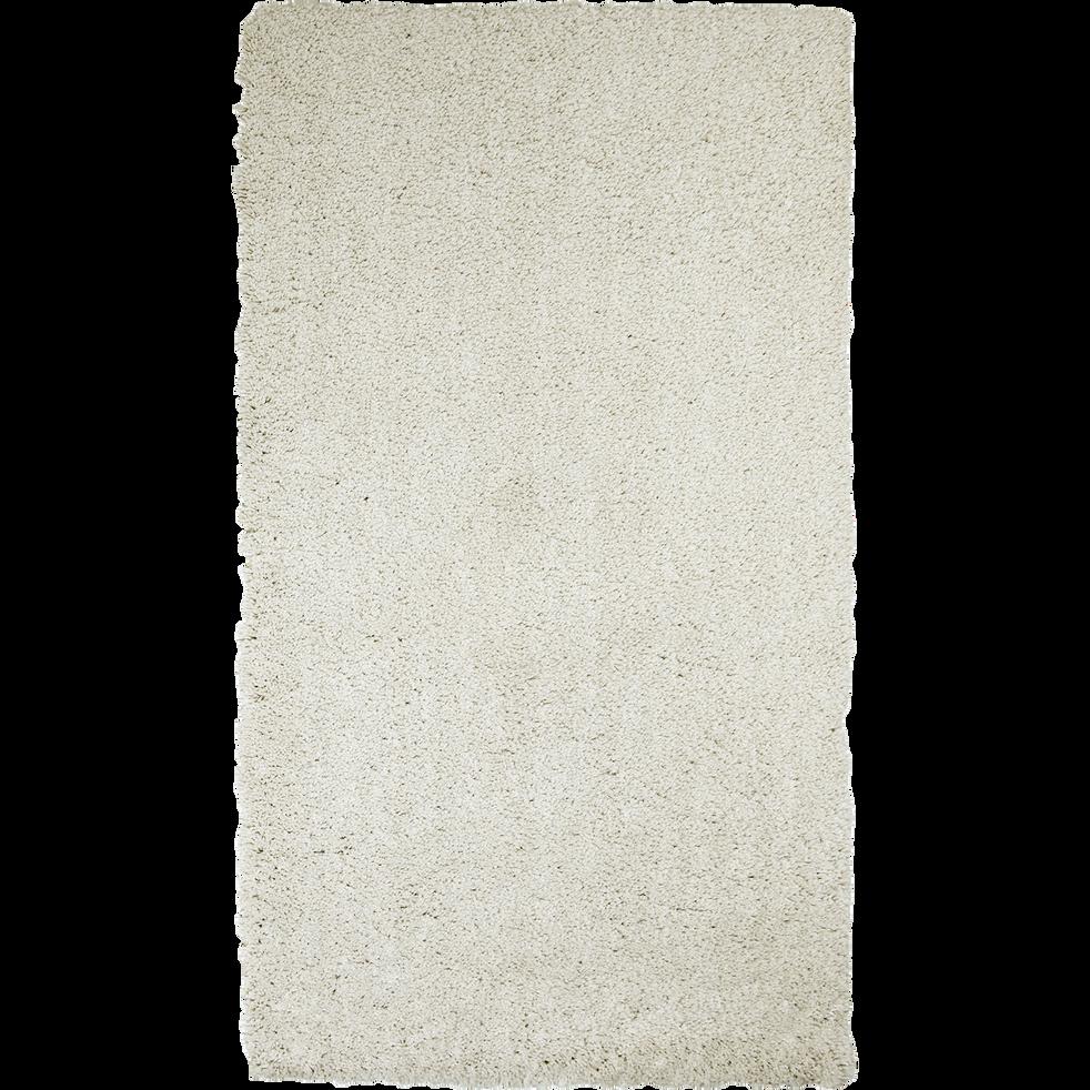 Descente de lit shaggy beige roucas 60x110cm-CELAN