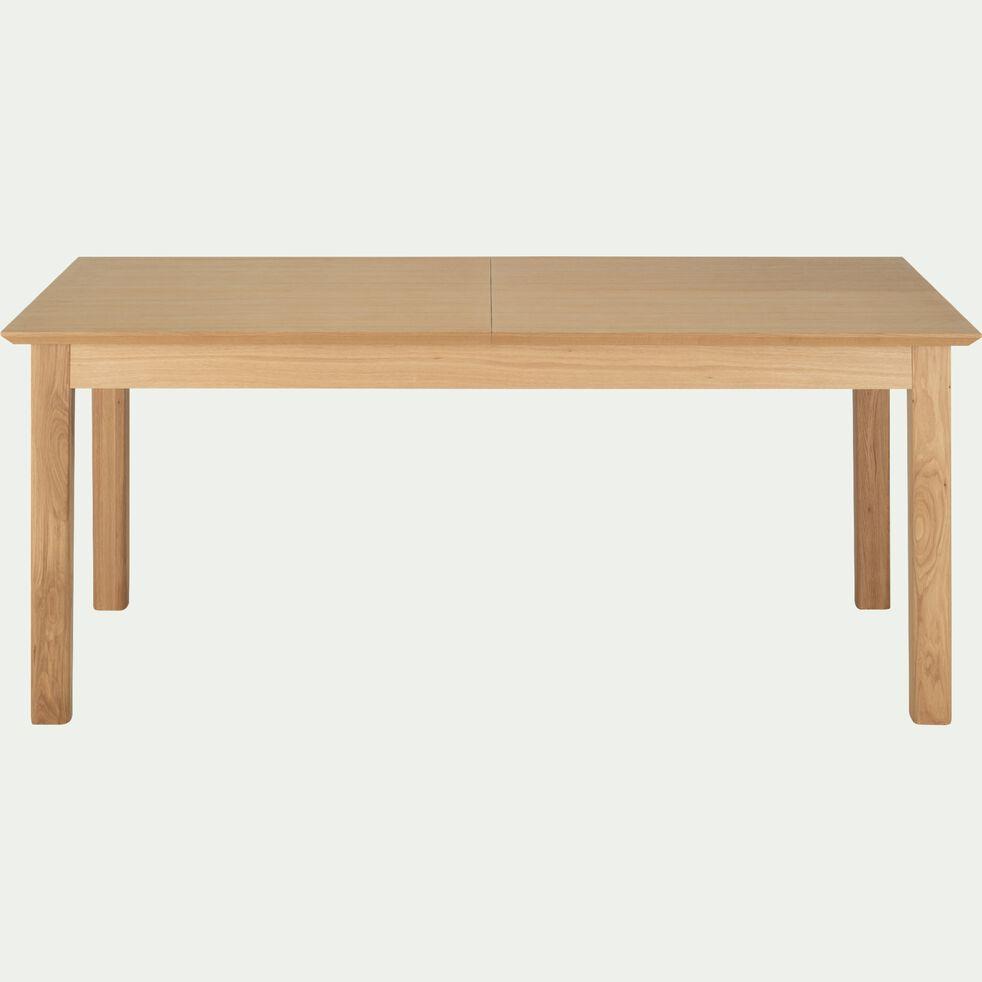 Table de repas extensible en bois - naturel (6 à 12 places)-AGOSTA