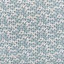 Housse de couette en coton et 2 taies d'oreiller à motifs - vert 260x240cm-PAPYRI