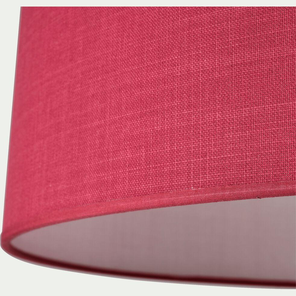 Suspension cylindrique en coton - D75cm rouge arbouse-MISTRAL