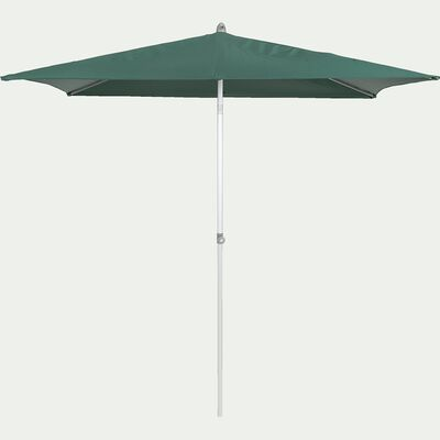 Parasol de balcon rectangle vert foncé 200x250 cm-ACT