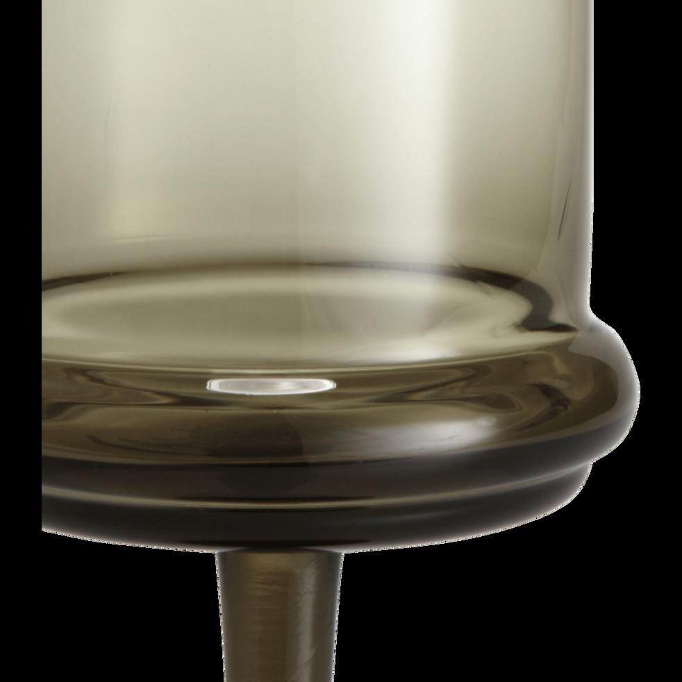 Verre à vin en verre fumé 25cl-NECTAR