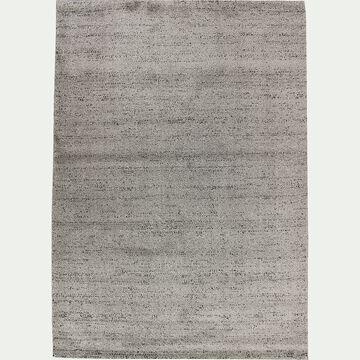 Tapis moucheté - gris clair 120x170cm-STESSY