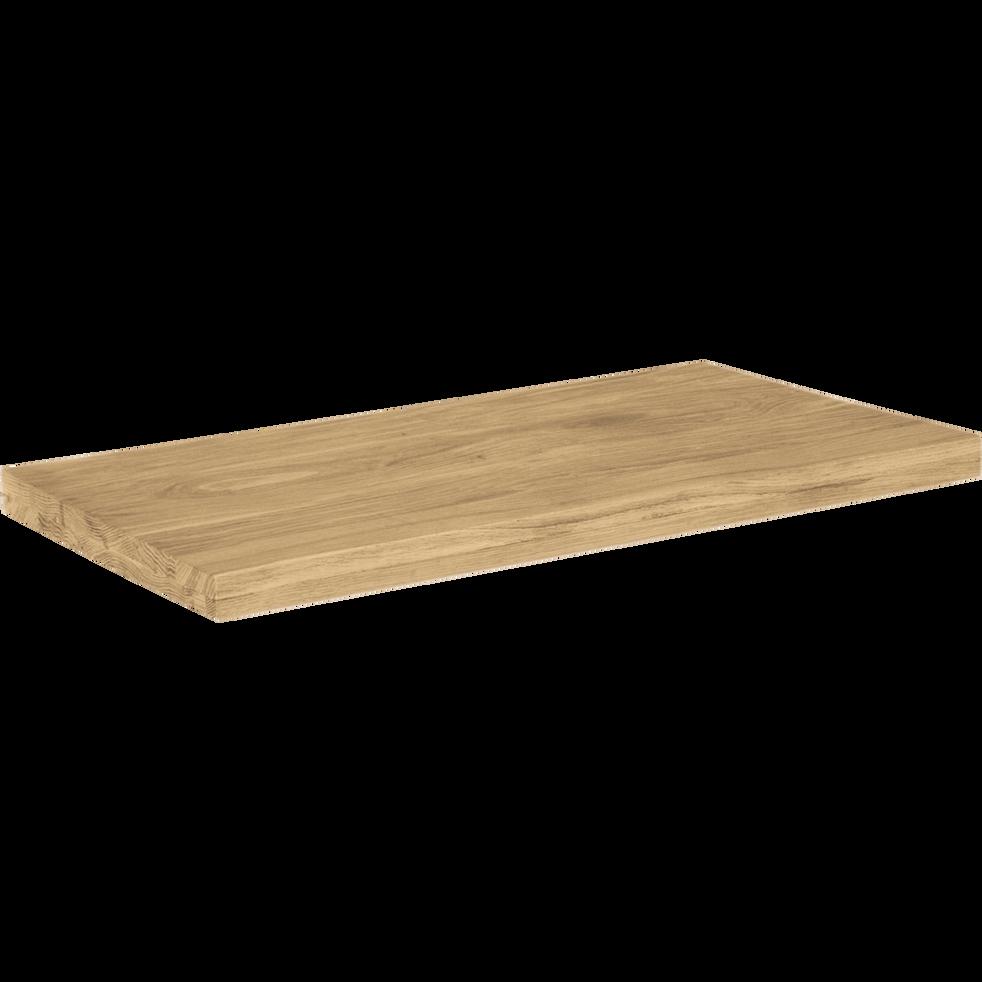 Tablette / Top pour sous-vasque simple L80cm-Native