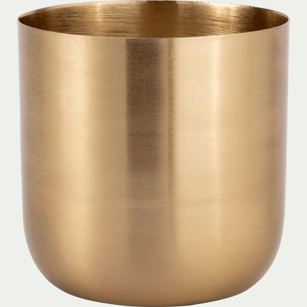 Bougie structure métal - doré 185g-EPSILON