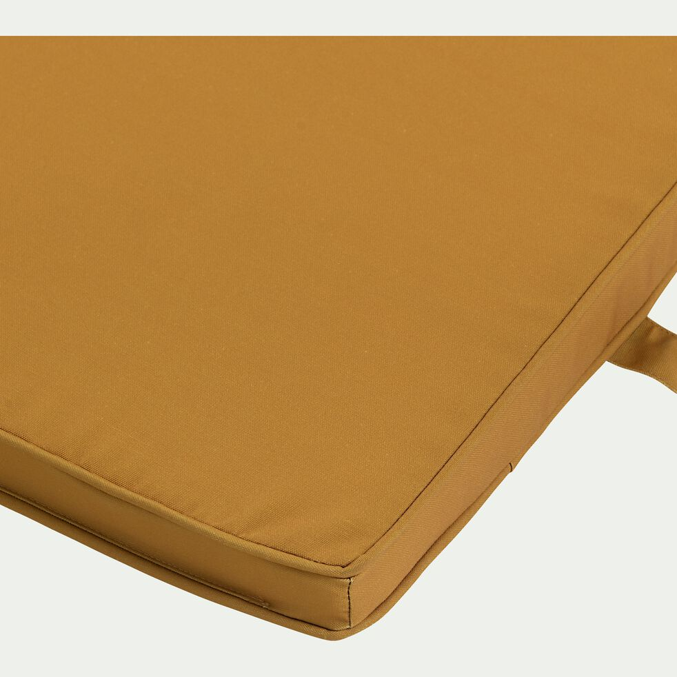 Matelas de bain de soleil uni - jaune argan-MAJORQUE