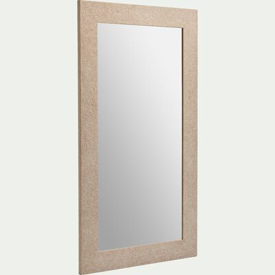 Miroir en pin H142cm-MINERALI