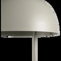 Lampadaire en métal vert olivier H146,5cm-LOLLY