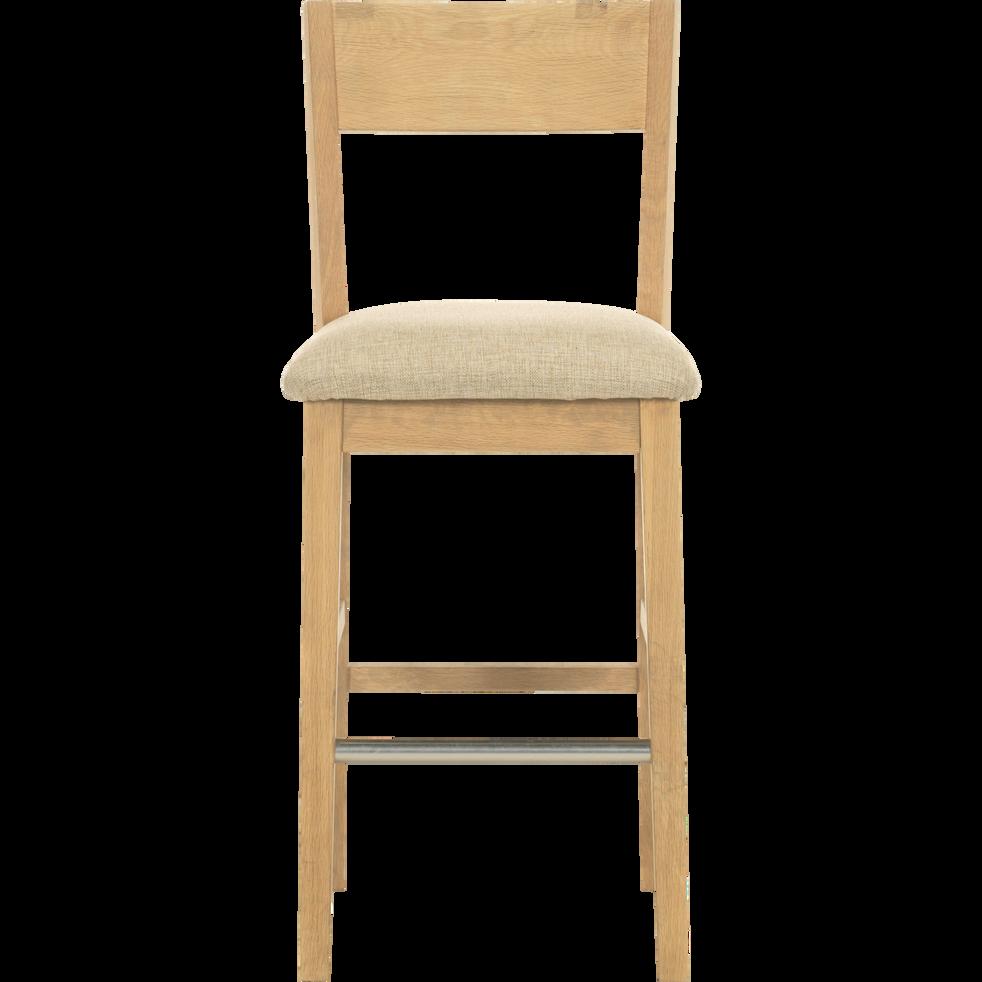 Bonnie Chaise de bar en chêne massif H66cm