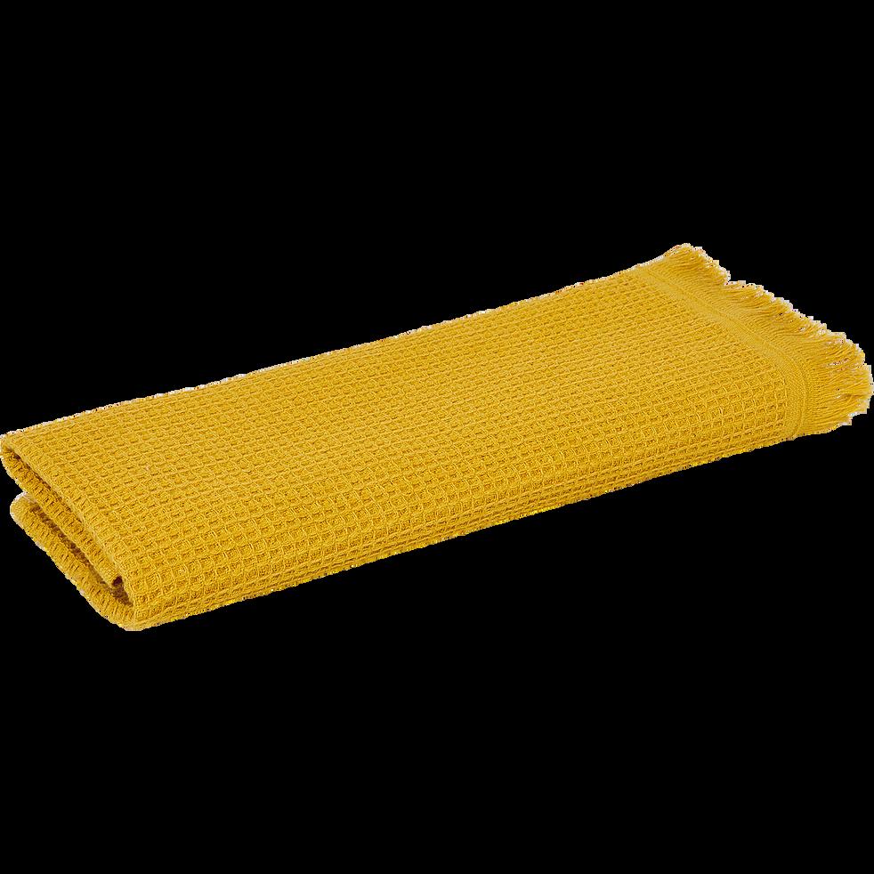 Serviette invite 30x50cm jaune cari-JELENA