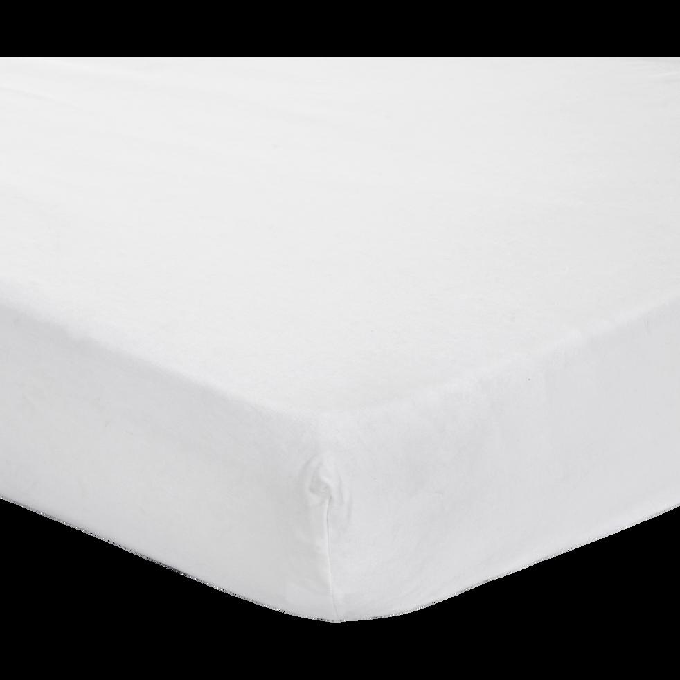 Protège-matelas en coton traité Aegis 140x200cm bonnet 30cm-HEWA