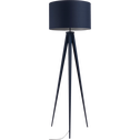 Lampadaire en métal bleu myrte H156cm-TRIX