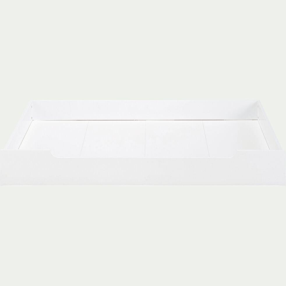 Tiroir sous lit en bois - blanc-POLLUX
