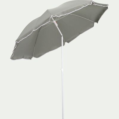 Parasol de plage - vert olivier (D180cm)-GASSIN