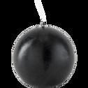 Bougie ronde gris calabrun D6cm-HALBA