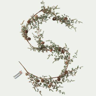 Guirlande lumineuse branchage - 150cm vert-LINO