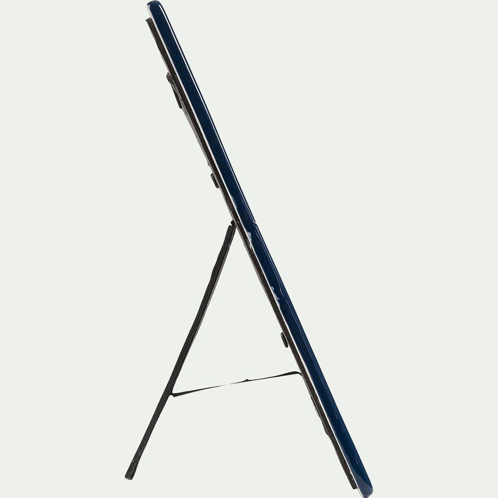 Cadre photo en céramique - bleu 20x26cm-CAPUCINES
