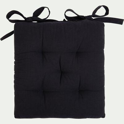 Galette de chaise - gris calabrun 40x40cm-CALANQUES