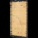 Sommier cadre à lattes Alinéa 4 cm - 90x190 cm-QUALI