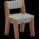 Chaise en acacia pour enfant vert olivier-RAPHAEL