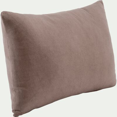 Coussin en coton beige 30x50cm-CALANQUES