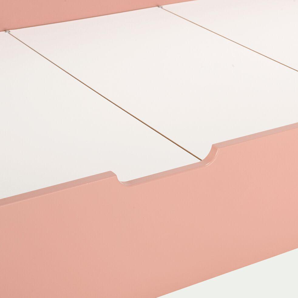 Tiroir de lit en bois - rose salina-JAUME