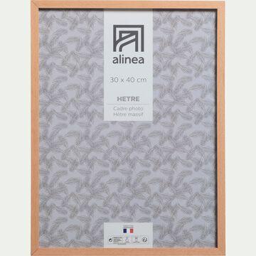 Cadre photo en bois L30xH40cm-HETRE