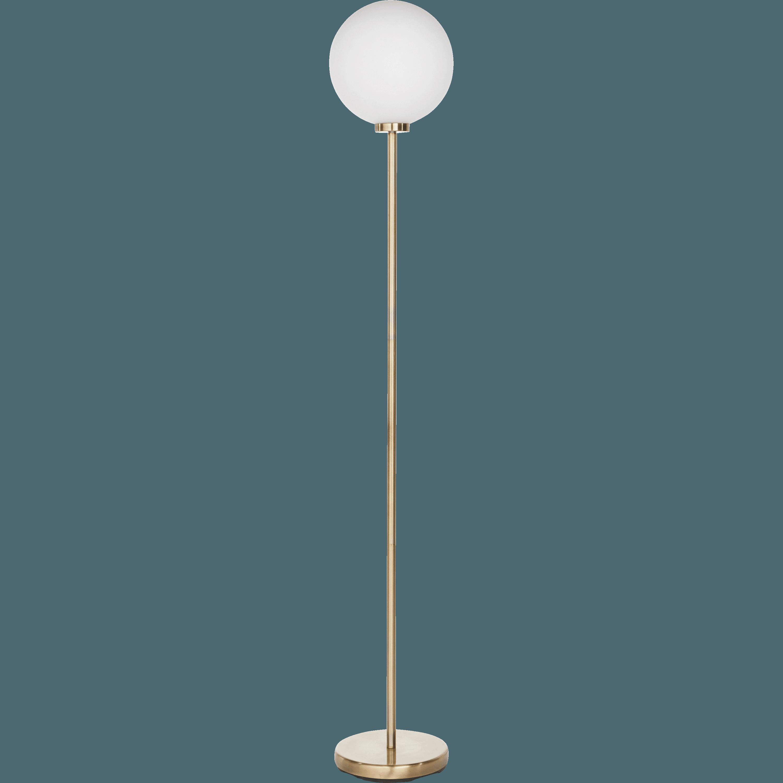 Lampadaire En Laiton Doré H153cm MARIA