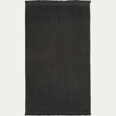 Tapis de bain en coton - vert cèdre 50x80cm-Ryad