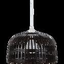 Suspension en bambou tressé marron D40cm-PHUKET