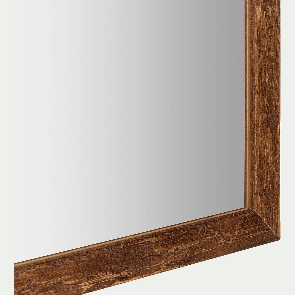 Miroir en bois d'ayous - naturel 40x100cm-DIANE