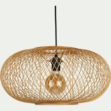 Suspension en bambou D48xH25cm-ROUVIA