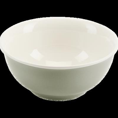 Bol en porcelaine vert olivier D14,4cm-CAFI