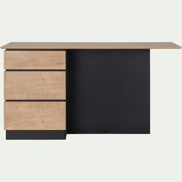 Ilot central de cuisine en bois - naturel-MAGE