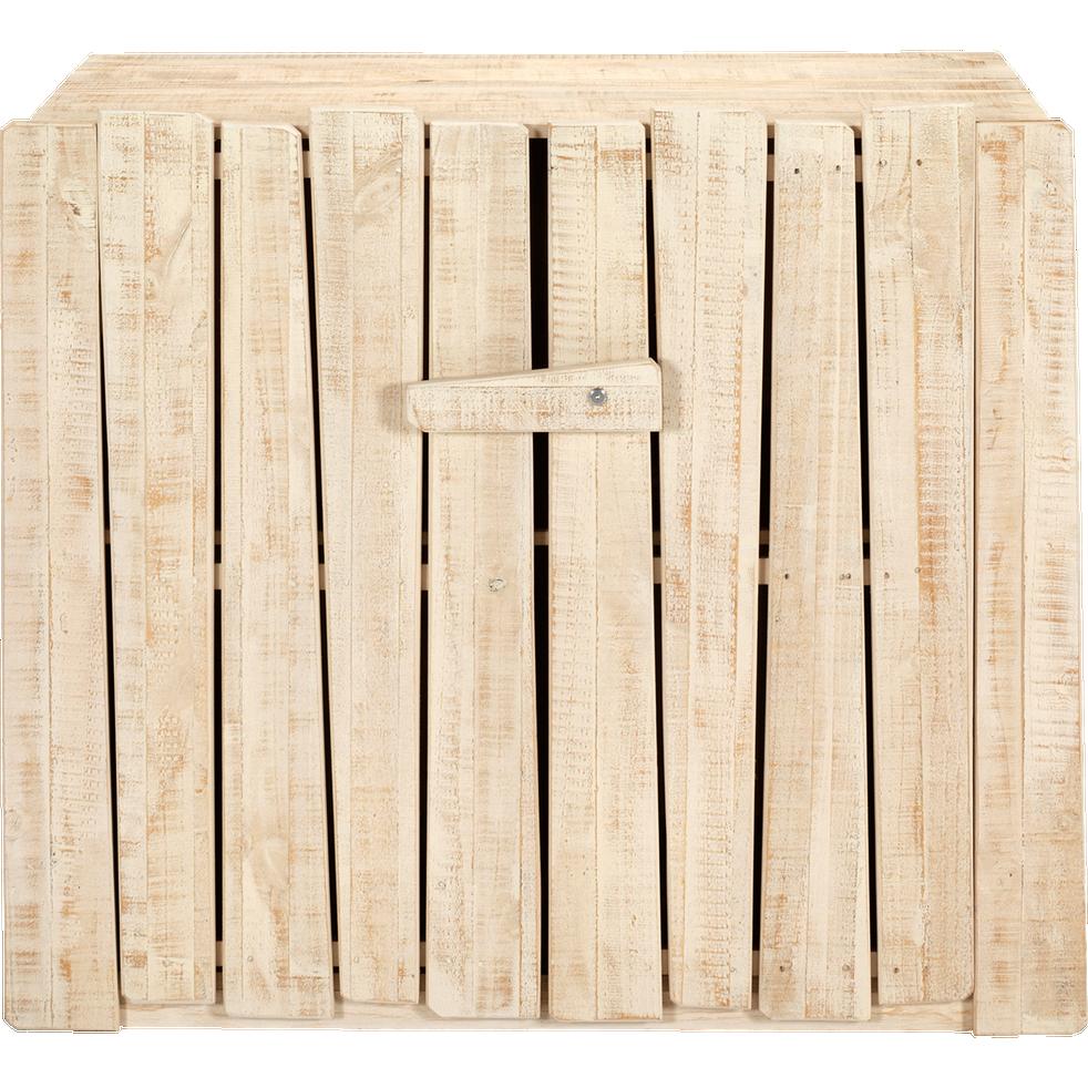 Commode 2 portes en pin massif-WOODY WOOD