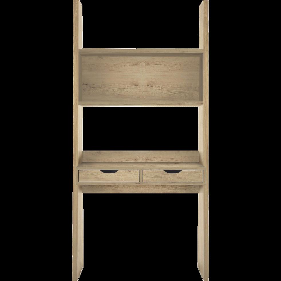 bureau tag re coloris ch ne 2 tiroirs yolo bureaux alinea. Black Bedroom Furniture Sets. Home Design Ideas