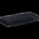 Serviette en coton 50x100cm gris calabrun-AZUR