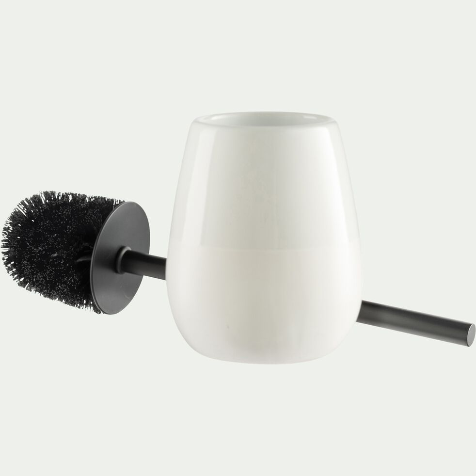 Brosse wc - blanc-SPINA