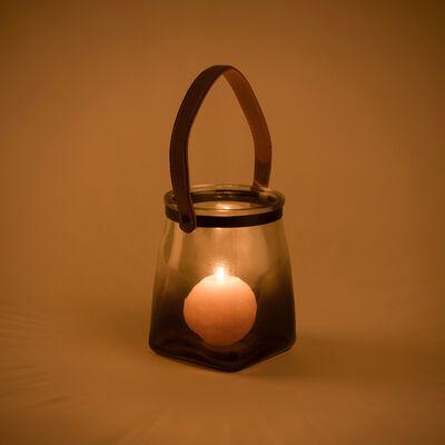 Lanterne en verre H17xD14cm-ALIOTH