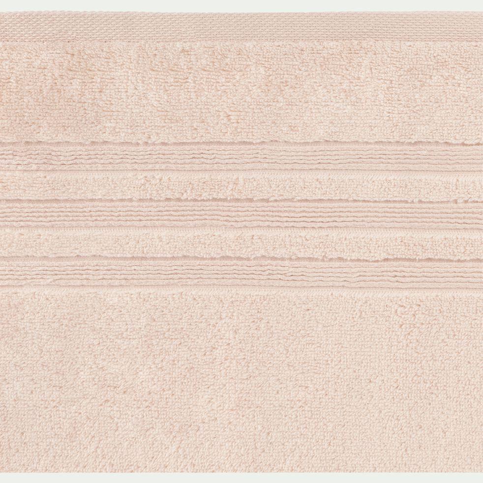 Serviette de bain 50x100cm rose grège-NOUN