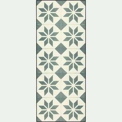 Tapis de cuisine carreaux de ciment 50x120cm en vinyle-VISTACIMEN2